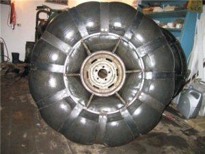 Как сделать покрышку для колес 210
