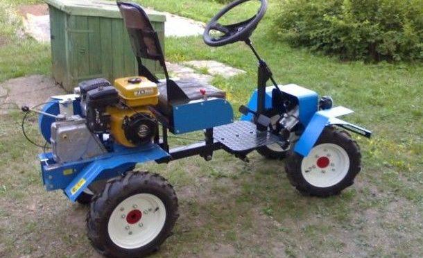 Трактор из мотоблока «НЕВА МБ»