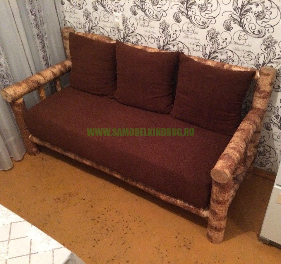 Простой диванчик на кухню