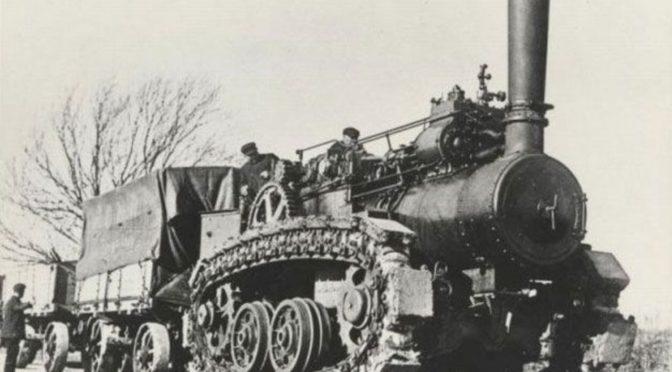 Паровой гусеничный трактор «Хорнсби»
