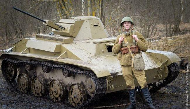 Модель танка «Т-60»