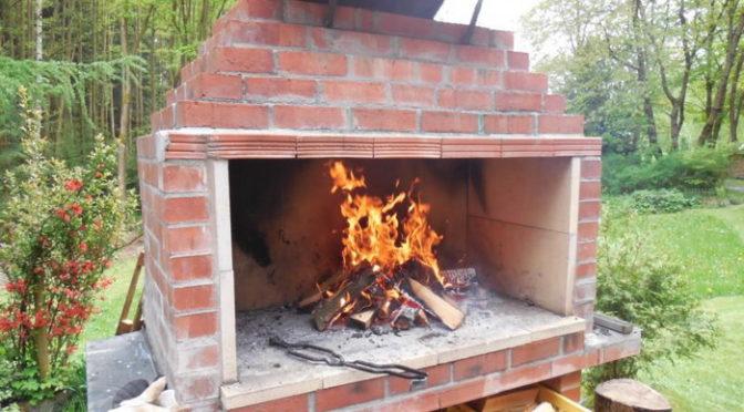 Печь-барбекю своими руками