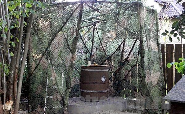 Коптильня из 200 литровой бочки