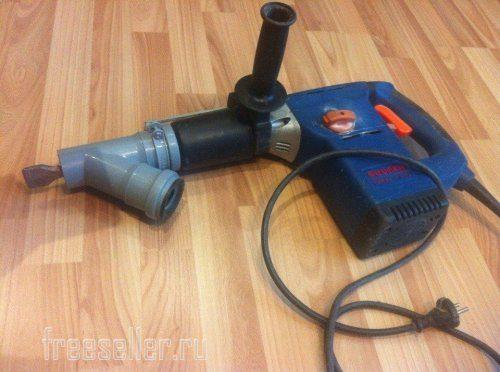 Как сделать пылеудаление для перфоратора