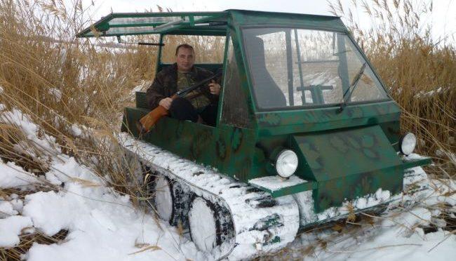 Гусеничный вездеход от Александра Закурдаева