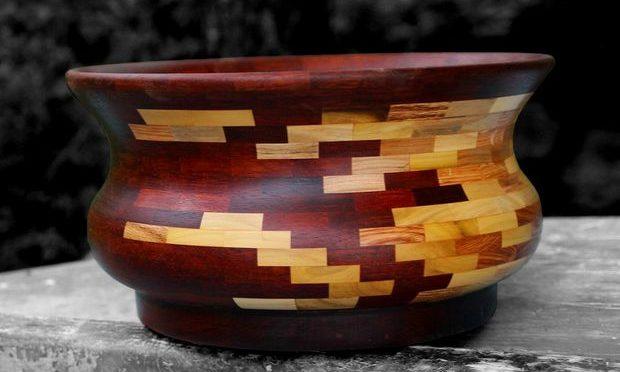 Деревянная чаша своими руками из поддона