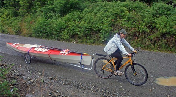 Велосипедный прицеп своими руками для перевозки байдарок