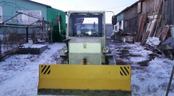 Самодельный мини-трактор Трудяга