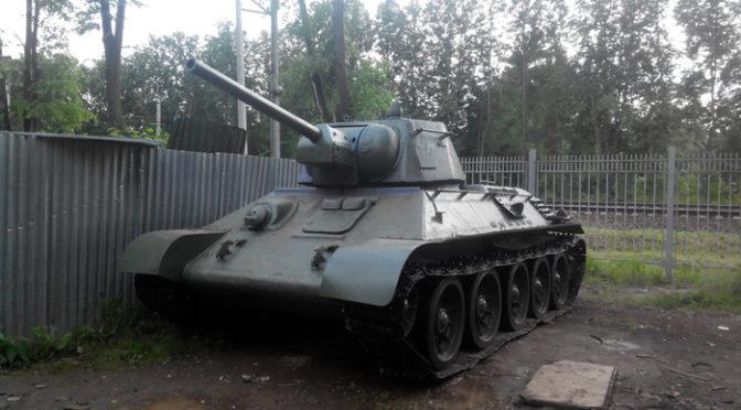 Восстановление  легендарного танка Т-34-76