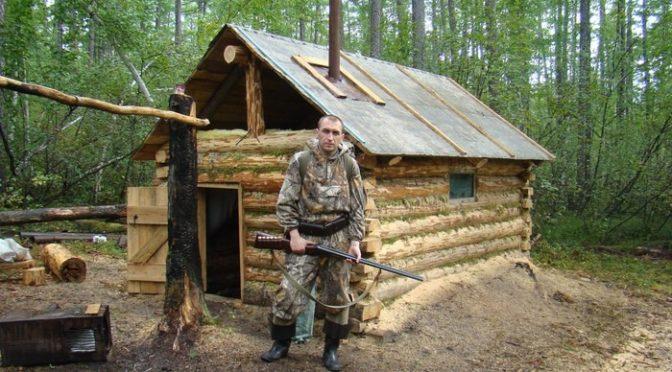 Как построить зимовье в лесу своими руками