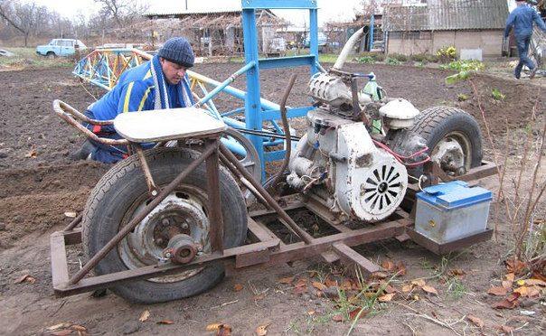 Лазной трактор своими руками