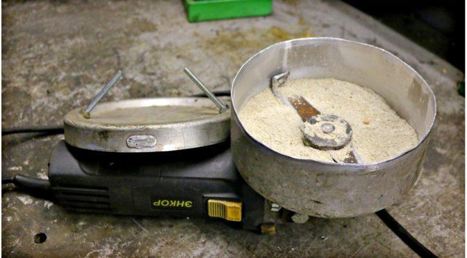 Как сделать зернодробилку из УШМ болгарки своими руками