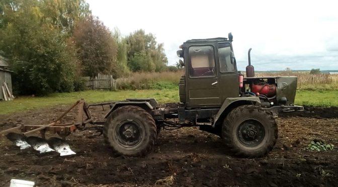 Самодельный трактор мини Т-150