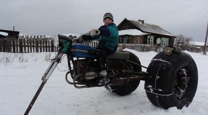 Каракат на базе мотоцикла Урал