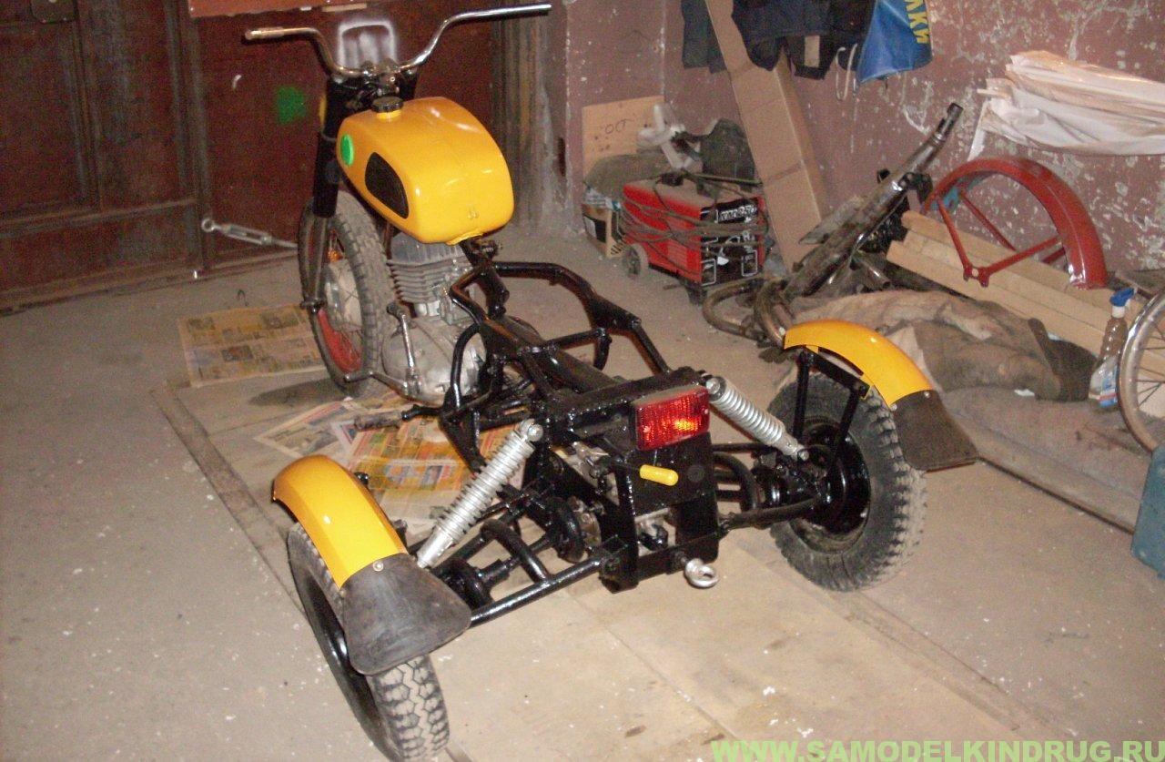 Как сделать мотоцикл муравей фото 337