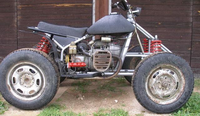 Самодельный квадроцикл на базе К 750