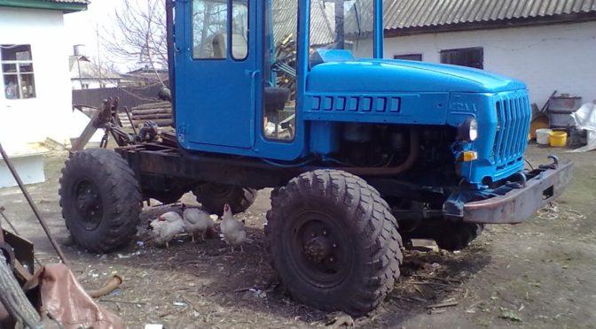 Самодельный трактор на базе ГАЗ 66