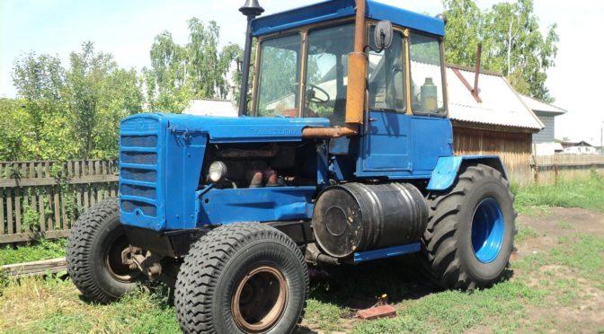 Гусеничные трактора переделанные в колесные