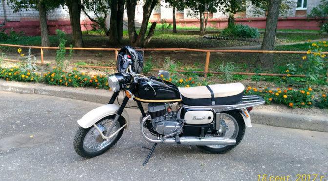 Мотоцикл Восход 2  реставрация