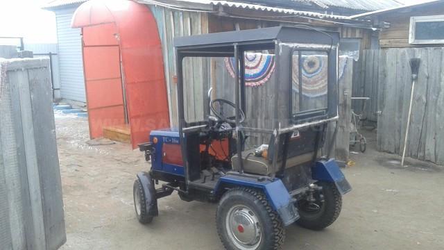 самодельный трактор с кабиной
