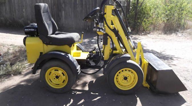 Самодельный трактор фронтальный погрузчик
