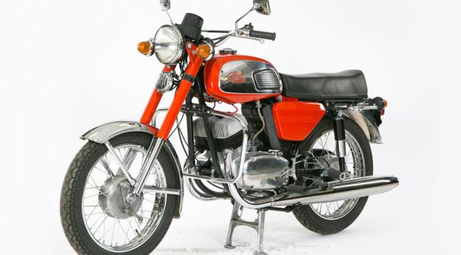 Мотоцикл Ява 350/634 1977 года выпуска