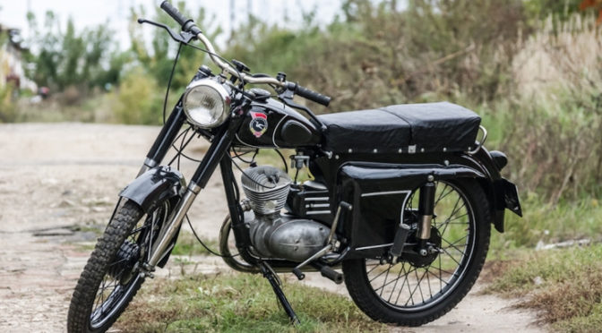 мотоцикл Минск М-104