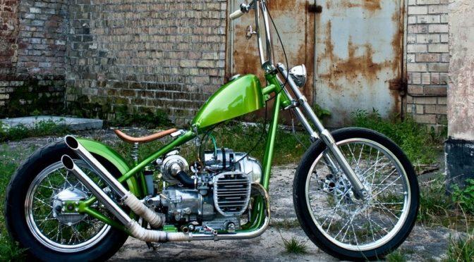 Кастом мотоцикла К 750