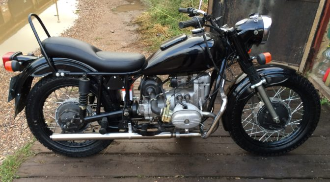 Восстановление и вторая жизнь мотоцикла Урал 8103