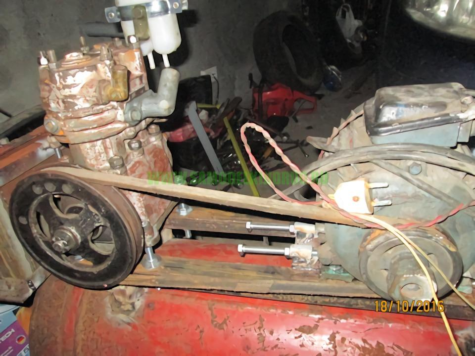 самодельный компрессор на базе ЗИЛ-130
