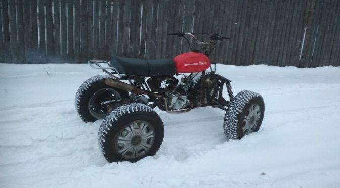 Самодельный квадрацикл на базе мотоцикла Минск
