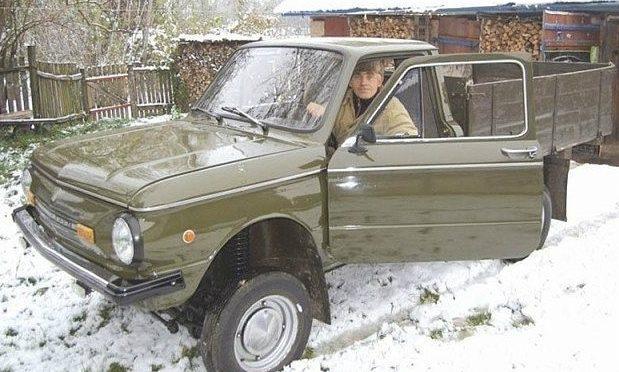 Самодельный грузовой Запорожец
