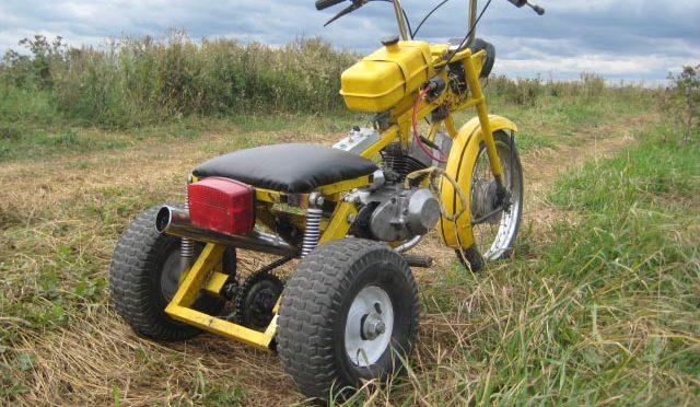 Самодельный мини-трицикл