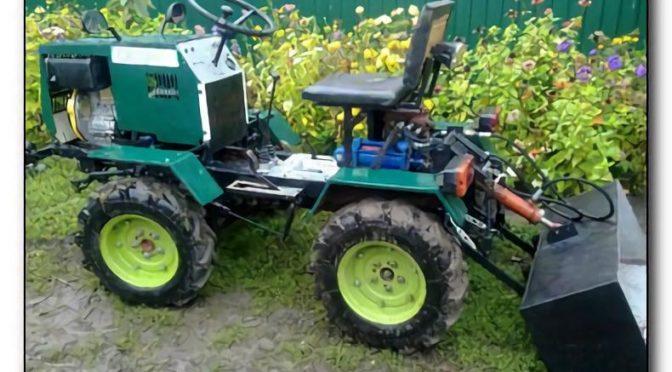 Мини-трактор с гидравликой