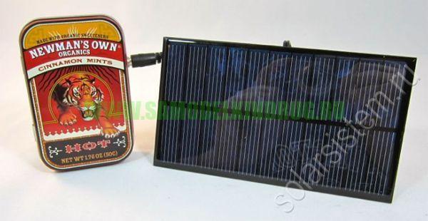 Солнечная энергия для зарядки телефона