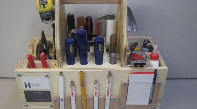 Ящик-органайзер для инструмента из фанеры