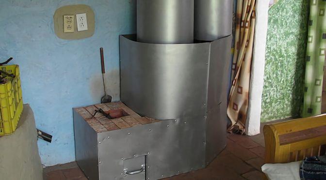 Как построить печь-ракету для отопления дома своими руками