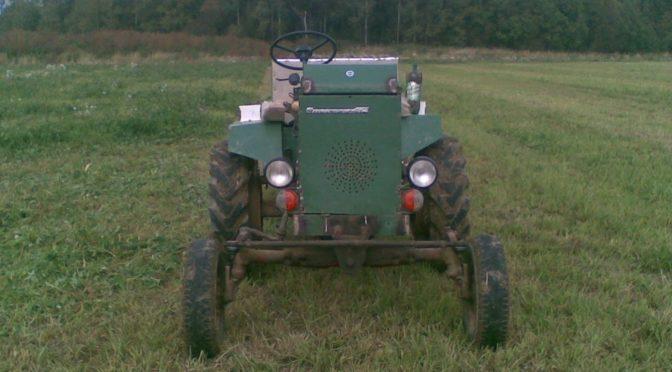Мини-трактор замена ДВС УД-2 на Lifan