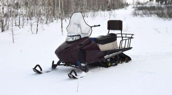 Самодельный снегоход с ДВС Lifan