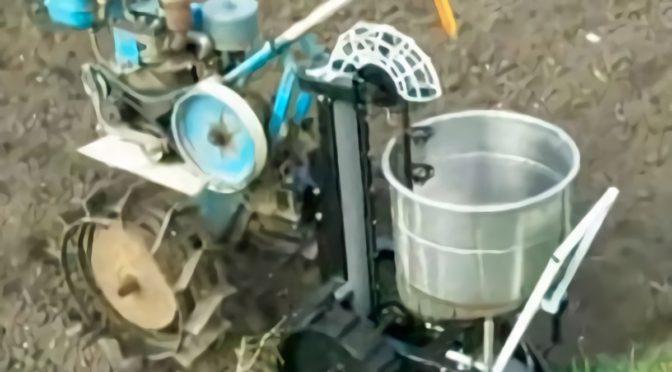 Как сделать картофелесажалку к мотоблоку своими руками