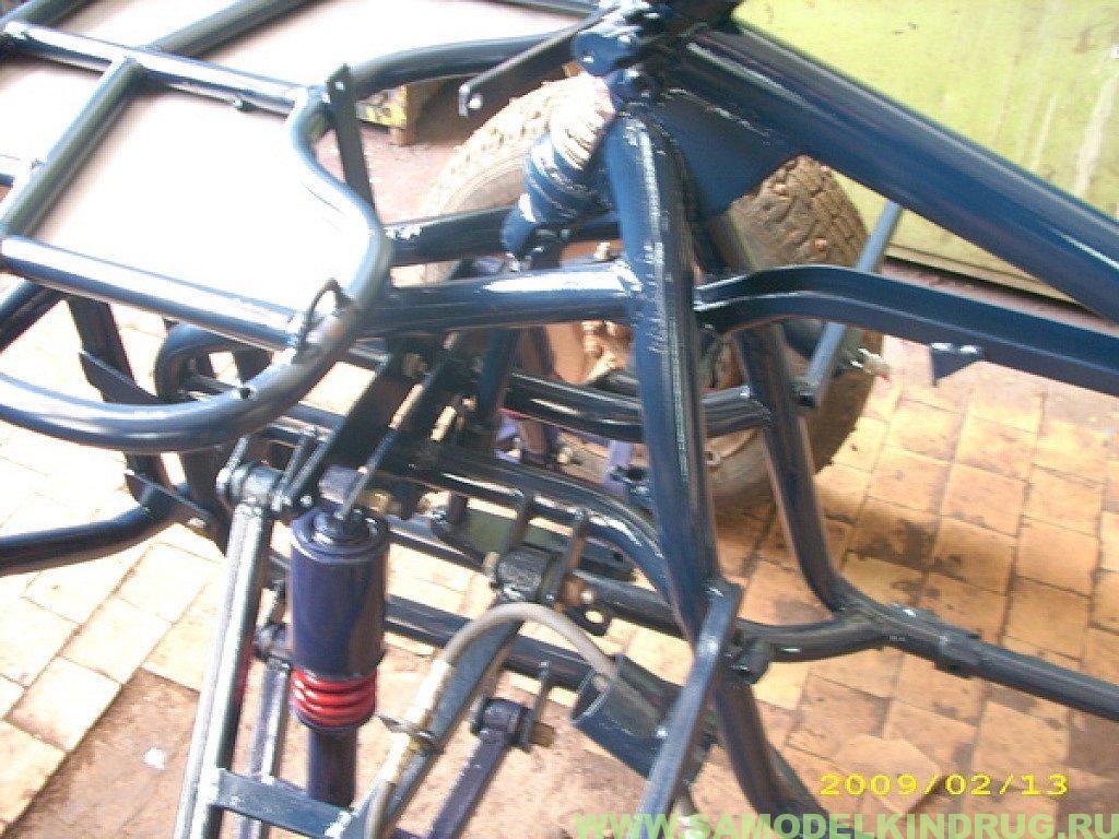 Квадроцикл из урала своими руками чертежи 4х4