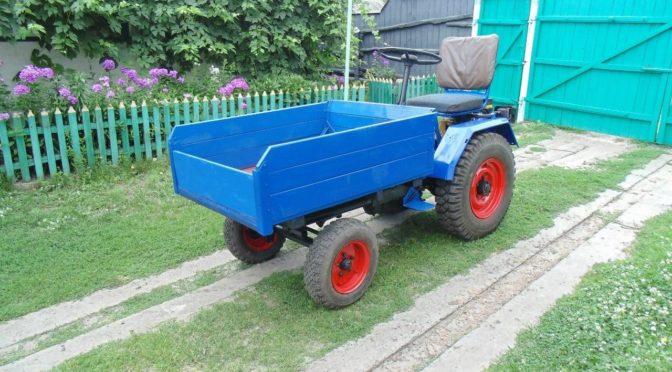 Самоходное шасси мини-трактор малыш Т-16