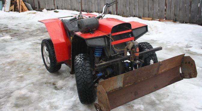 Самодельный квадрацикл с двигателем ОКА