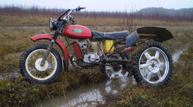 Самодельный трицикл на базе мотоцикла Минск