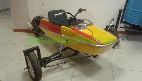 Самодельный детский трицикл на базе мотоциклетной коляски