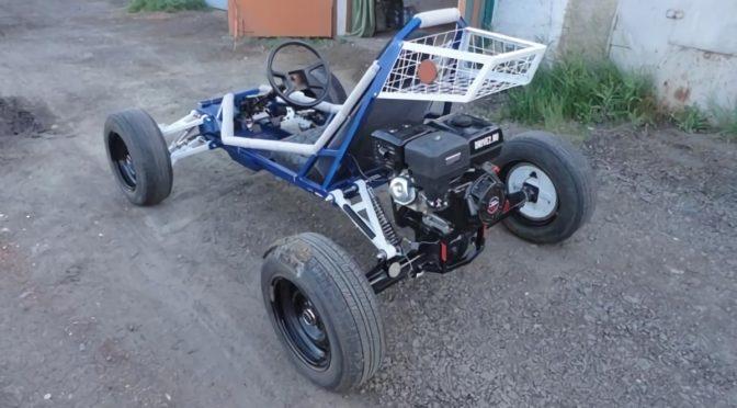 Самодельный багги с двигателем Lifan 15 л/с