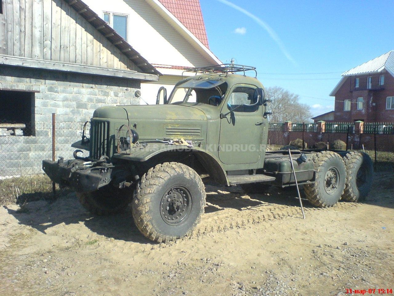 зил 157 армейский грузовик