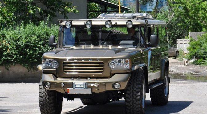 Внедорожник Булат на базе ГАЗ 66