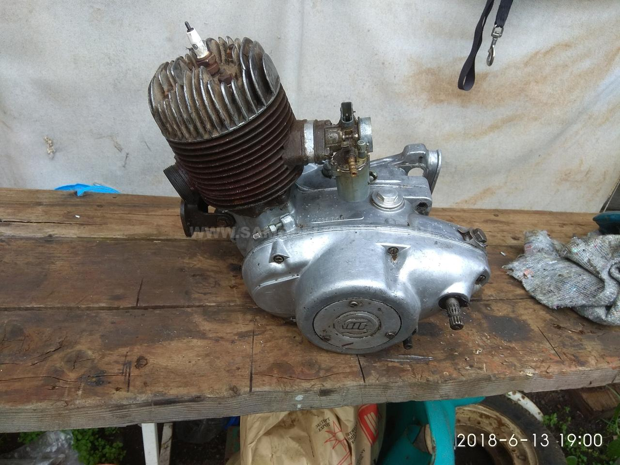 двигатель мотороллер муравей т 200