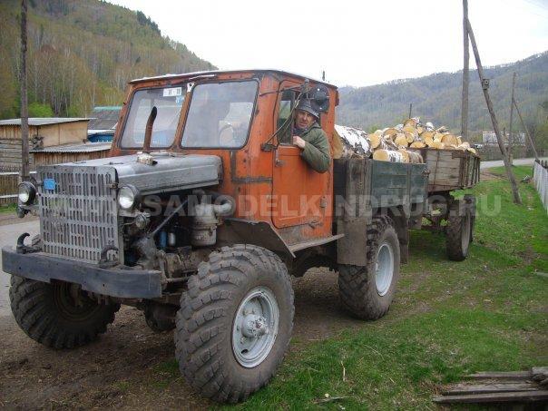 самодельный трактор на базе газ63